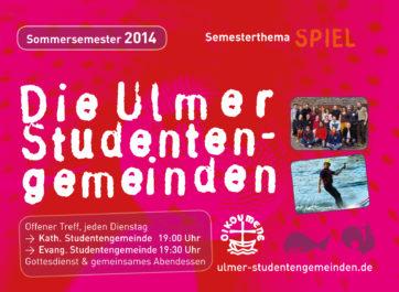 Titelblatt Sommersemester 2014